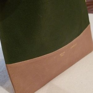Celine Bags - Celine Solo Leather Clutch Pouch